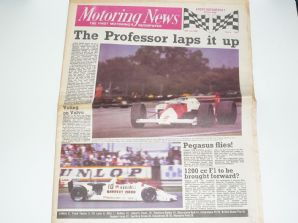 MOTORING NEWS 1985 July 24 British GP, F3, BTCC, Mondello